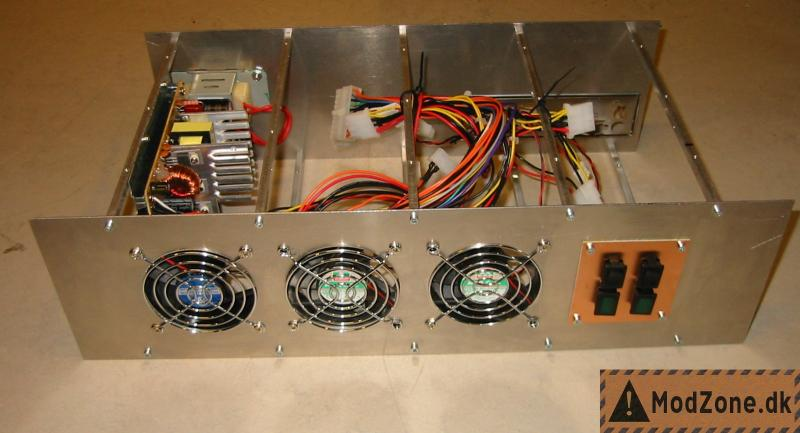 19 inch diy pc rack and server project by tyksak of for Homemade rack case