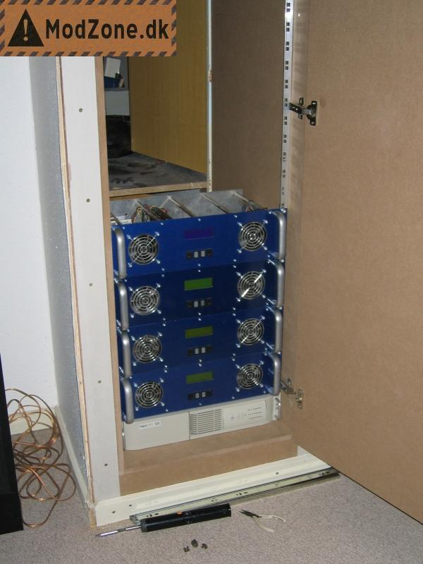 19 Inch Diy Pc Rack And Server Project By Tyksak Of
